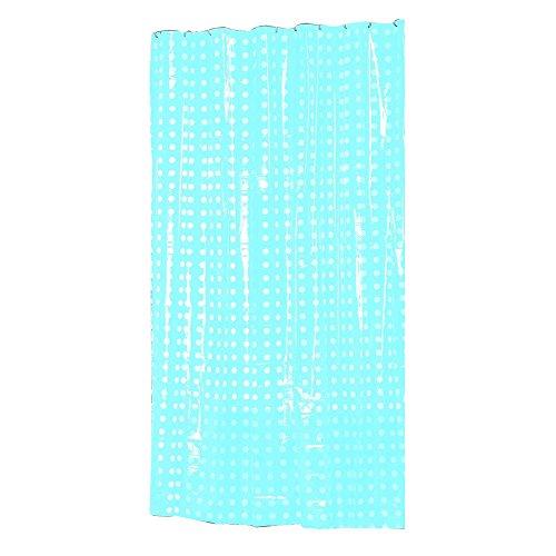 MSV Duschvorhang, Blau, 12 cm cm