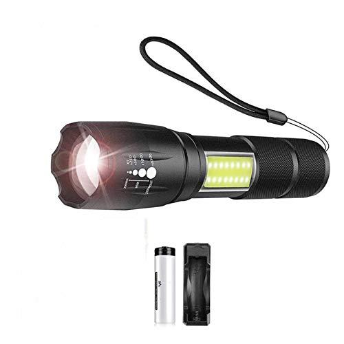 Linterna Linterna LED Brillante Estupendo Con La Equitación COB Light Side 4...