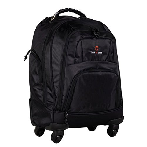 Take it Easy Rucksack Trolley Bag Schwarz