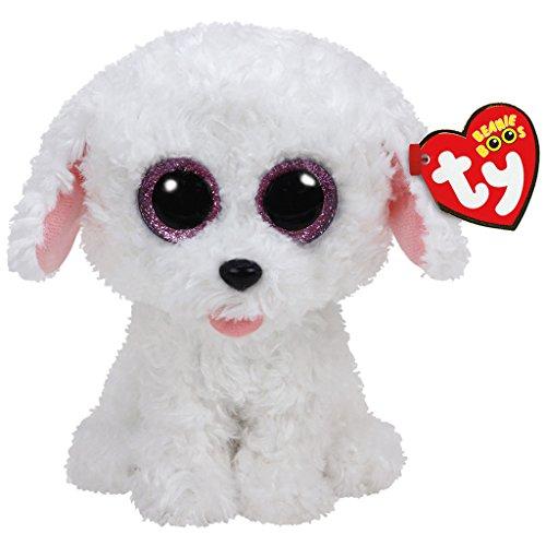 Carletto Ty 37175 Pippie Dog Plüsch, Weiß
