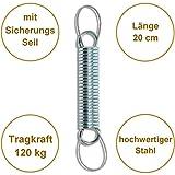 Aufhängung Befestigung mit Feder für Hängesessel von HOBEA-Germany - 3