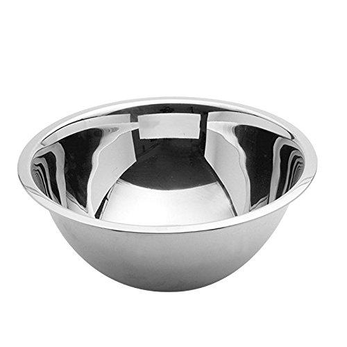 Weis Küchenschüssel Gastro 32 cm, Edelstahl, Silber, 32 x 32 x 12 cm