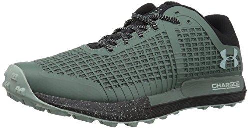 Under Armour Men's Horizon BPF Running Shoe, Toddy Green (300)/Black, 10
