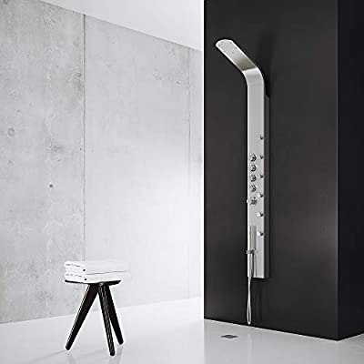 VIGO Rain Waterfall Shower Panel