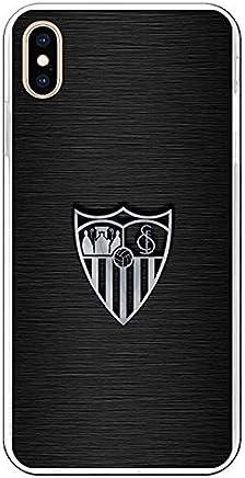 2acb0661a10 La Casa de Las Carcasas Carcasa Oficial Sevilla FC Plata iPhone XS MAX