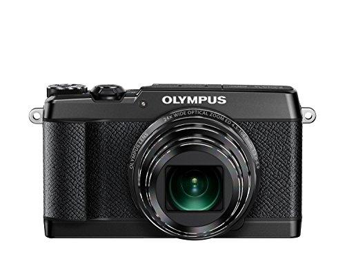 Olympus SH-2 Digitalkamera (16 Megapixel CMOS-Sensor, 24-fach optische Zoom, 5-Achsen Bildstabilisator, WiFi, Full-HD Video) schwarz
