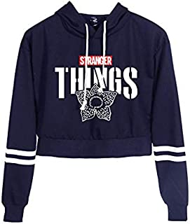 25 STYLES teenager Stranger Things 3D Cat Cropped Hoodies harajupu hip hop sweater top coat Long Sleeve Hooded Pullover Crop Tops New Arrival Hot Sale Fashion Streetwear Cloth