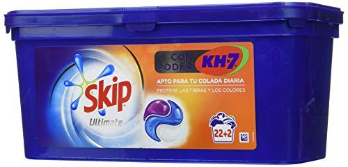 Skip Ultimate Detergente Capsulas 3en1 CON PODER KH7 22+2lav