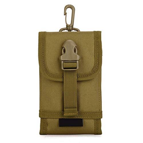 Yakmoo Handyhalter Taktischer Militärstil Handytasche Wasserdicht Molle System Phone Pouch Zubehör für den Rucksack für Outdoors