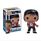LLFX Carácter MJ Pop Figura clásica de Michael Jackson Ordenadores muñeca Adornos de PVC...