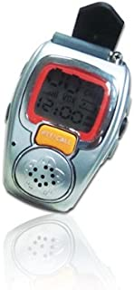 2PCS Wrist Watch Style Walkie Talkie Freetalker With Backlit LCD Screen Two Way Radio