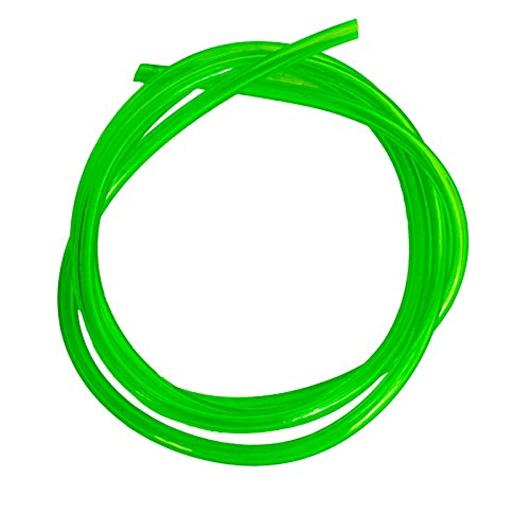 Outlaw Racing OR2096GN Motorcycle ATV Snowmobile PWC Jetski Polyurethane Carburetor Carb Line Hose Tube Tubing 5 Feet 1/8 Inch Green