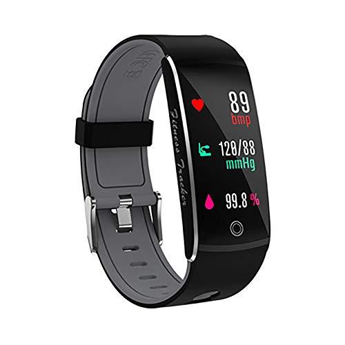 TEHWDE Smartwatch stappenteller horloge slaapbewaking waterdicht IP67 activiteitstracker stopwatch fitness armband met hartslagmeter fitness tracker horloge bloeddrukmeter voor kinderen dames heren