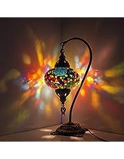 Nieuwe Speciale Turkse Lamp/Marokkaanse Lamp Tiffany Stijl Glas Bureau Tafellamp