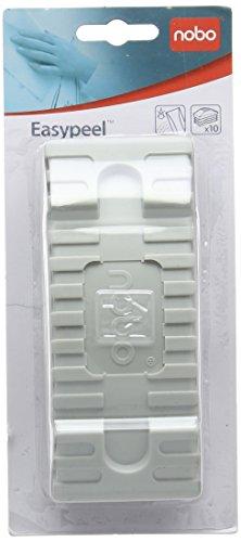 Nobo EasyPeel Tafelwischer Nachfüllpack (10 ablösbare Löschfilze für Whiteboards)
