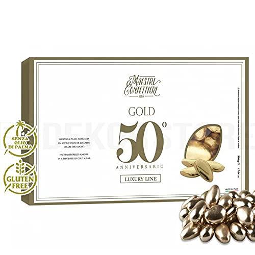 Confetti Maxtris Al Dorati 500 Gr Nozze Oro, Cioccolato