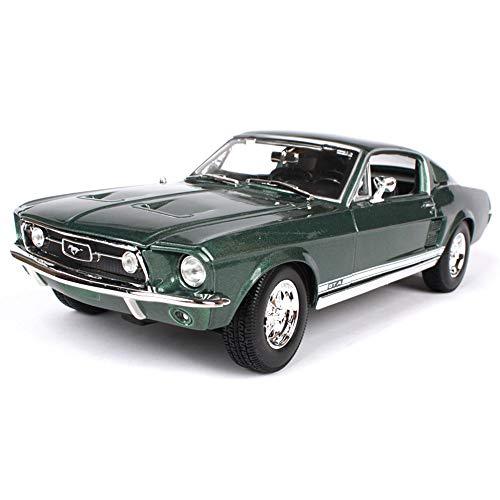 FCX-DIECAST Modellino Originale in Rapporto 1:18, Ford Mustang GTA del 1967 in Lega Modello di Auto Giocattolo, Statico Pressofuso, Modello in Miniatura, Modello Finito, Collezione di Auto, Regalo