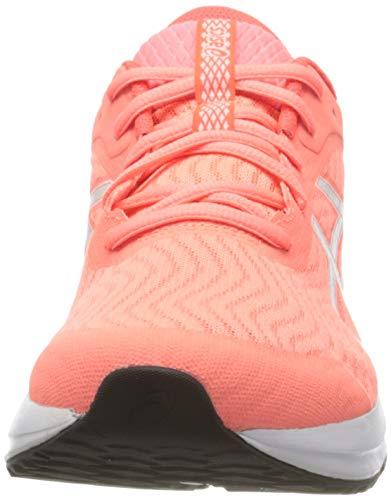 Asics Patriot 12, Zapatos para Correr Mujer, Rosa (Sun Coral/White), 40 EU