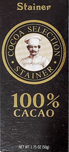 Andrea Stainer Tavoletta Di Cioccolato Extra Fondente 100% Cacao - 50 g