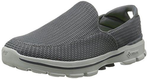 Skechers Performance Men's Go Walk 3 Slip-On Walking Shoe, Charcoal, 11 M US