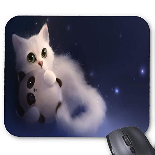 Katzenhaar Tier Panda Katze Spielzeug Mauspad