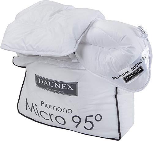 Daunex Piumino Light Estivo Mezza Stagione Anallergico Micro 95°- Singolo 135x200 cm -