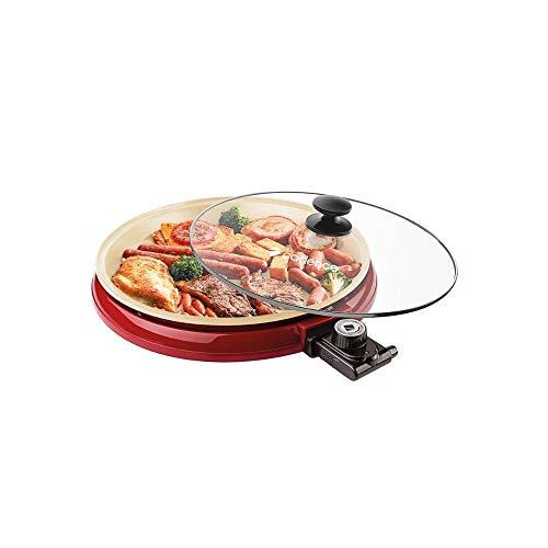 Multi Grill Cadence Ceramic Pan Cadence Vermelho 110v