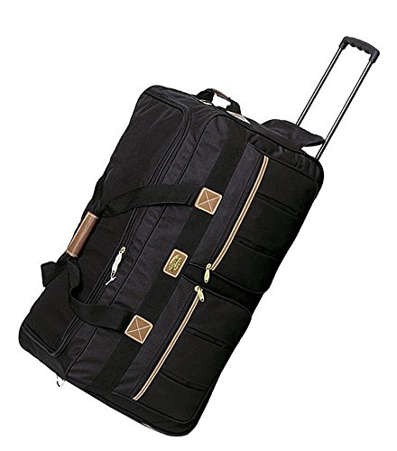 Travel Deluxe 22' Rolling Duffle Bag Suitcase Duffel Luggage