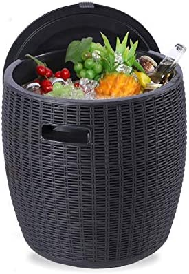 Furnimy Deck Box for Outdoor Patio Furniture Outdoor Indoor Container Storage Box with Handles product image