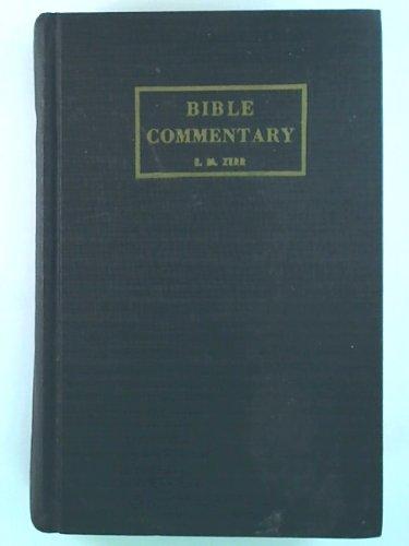 Bible Commentary Volume Five (Vol.5: Matthew - Romans)