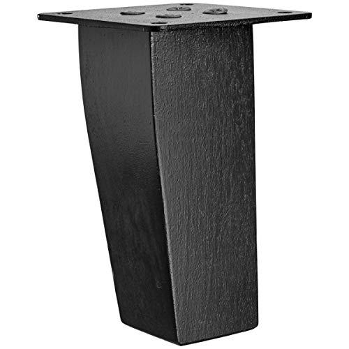 Fuß-Set Wilkins Sofa und Sessel, 4.5x4.5x11.5 cm (BxTxH), birke/wenge gebeizt, 4 Stück/Packung