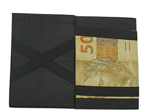 Carteira Mágica Porta Cartão e Dinheiro de Couro