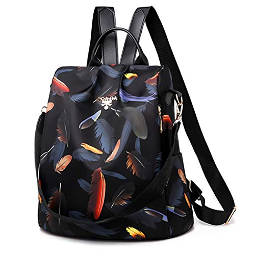 Women Backpack Bag,Bageek Small Womens Backpack Ladies Backpack Anti Theft Backpacks Women Nylon Rucksack Ladies Lightweight Shoulder Bags for Women