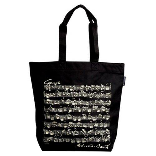 VIENNA WORLD Shopper Bach - Baqueta, Color Negro