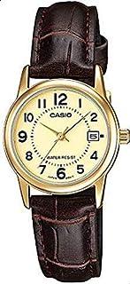ساعة كاسيو للنساء  LTP-V002GL-9B- انالوج، رسمية