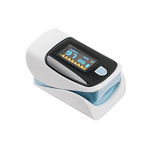 Denshine Color OLED pulsioximetro Oximetro de dedo Con Alarma Audio...