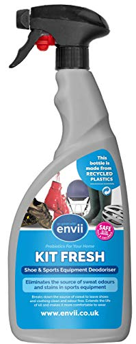 Envii Kit Fresh – Spray Elimina Odori per Scarpe e Attrezzatura Sportiva – 750 ml…