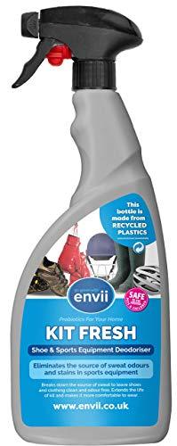 Envii Kit Fresh – Natürlicher Schweißgeruch-Entferner für Kleidung, Sportausrüstung und Schuhe - 750ml