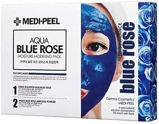MEDI-PEEL Aqua Blue Rose Modeling Pack Set (Rose Gel 4ea + Magic Power Gel 4ea + Spatula set) / Moisturizing, Lively (K-Beauty)