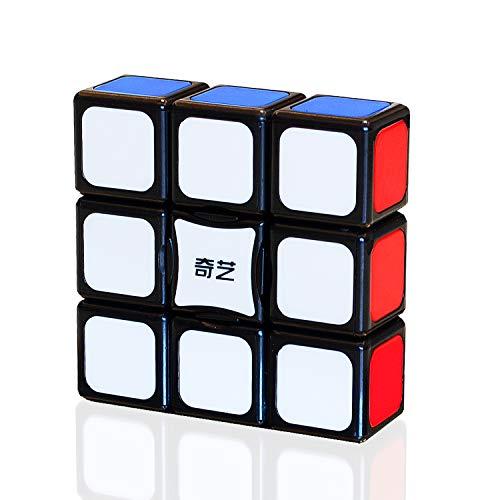 TOYESS Super Floppy Cube, 1x3x3 Speed Puzzle Cube para Principiantes, Negro