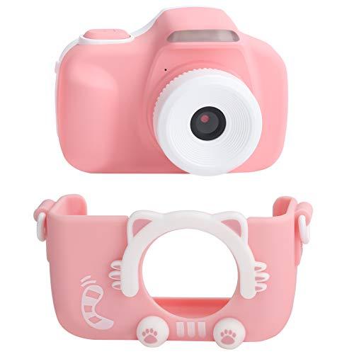 Mini cámara, AI Smart Face Recognition Camera for Kids ABS Material 3' Pantalla táctil para interacción padre-hijo para regalo de niños