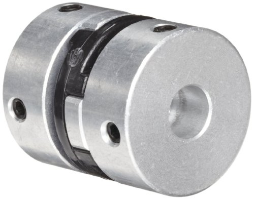 Huco 500.25.3131.Z Size 25 Oldham Coupling, Aluminum, Inch, 0.375
