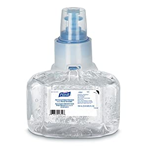 PURELL - 1303-03 Advanced Hand Sanitizer Green Certified Gel, 700 mL Hand Sanitizer Refill for PURELL LTX-7 Touch-Free Dispenser (Pack of 3) - 1303-03
