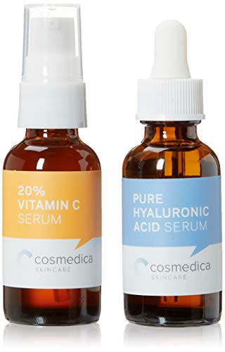 Cosmedica Skincare Best-Seller Set- Vitamin C Super Serum and Pure...