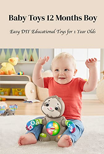 Baby Toys 12 Months Boy: Easy DIY Educational Toys for 1 Year Olds: Activities Idea for 12 Months Baby Boy (English Edition)