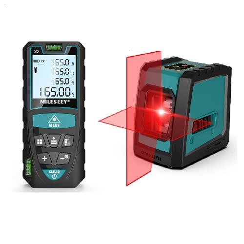 Laser Measure 165Ft and Laser Level 50ft
