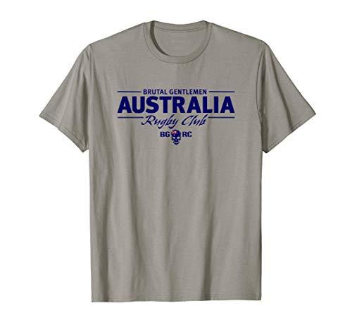 Brutal Gentlemen Rugby Club Australia Schädel T-Shirt