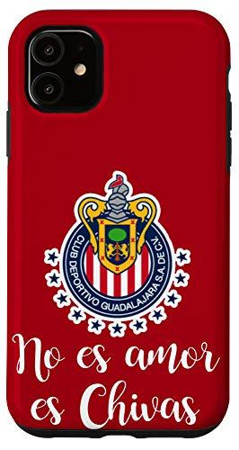 iPhone 11 No es Amor es Chivas Chivas de Guadalajara Case