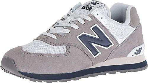 New Balance 574 Core Plus, Zapatillas para Hombre, Gris (Gunmetal/Navy ESD), 43 EU (Talla Fabricante: 9 UK)