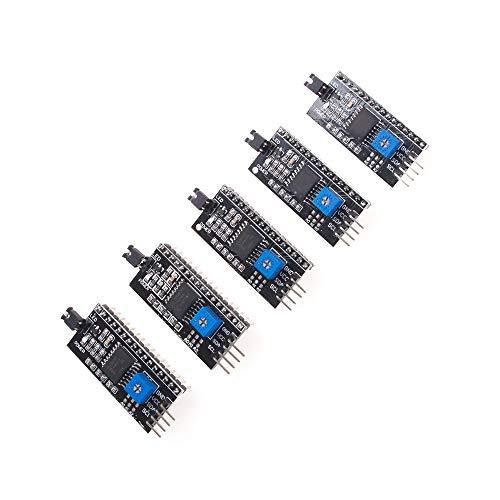 ANGEEK I2C/IIC/TWI - Modulo interfaccia seriale per display Arduino R3 LCD 1602 2004